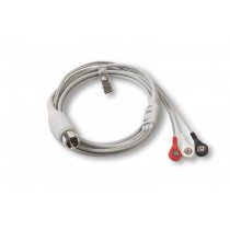 REPLACEMENT 3-LEAD ECG PATIENT CABLE (6 FT)