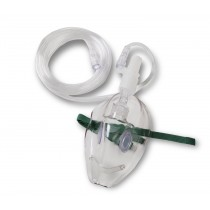 MAINSTREAM - SIMPLE CO2 MASK WITH ADAPTER, ADULT LARGE (10 PER BOX)